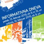 Informativni dnevi 2015